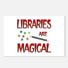 Libraries are Magical Postcards (Package of 8)