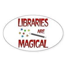 Libraries are Magical Decal
