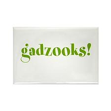 Gadzooks! Rectangle Magnet