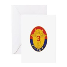 DUI - 3BCT- 1ID - Duke Brigade Greeting Card