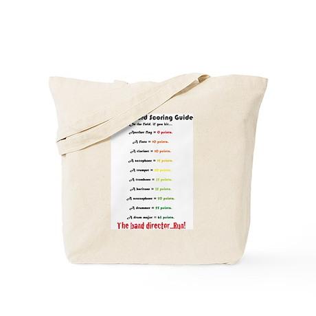 Colorguard scoring guide Tote Bag