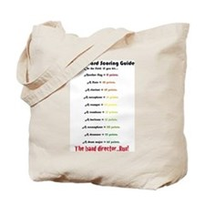 Colorguard scoring guide Tote Bag