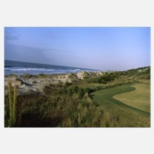Golf course at the seaside, Kiawah Island Golf Res