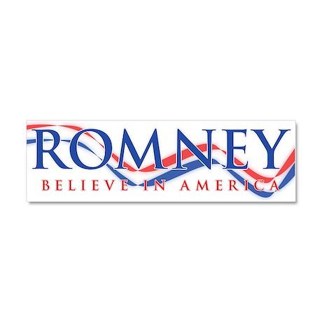 Mitt Romney 2012 Car Magnet 10 x 3