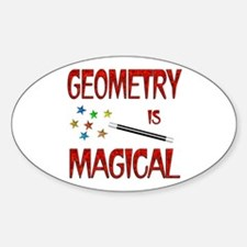 Geometry is Magical Decal