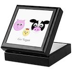 Farm Trio - Go Vegan Keepsake Box