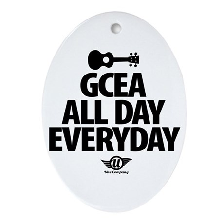 GCEA All Day Everyday! Ornament (Oval)