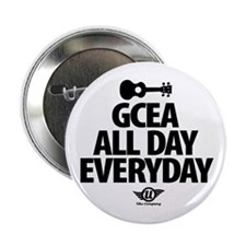 """GCEA All Day Everyday! 2.25"""" Button"""