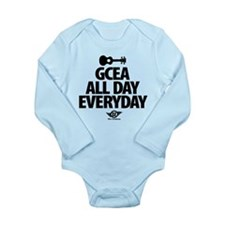 GCEA All Day Everyday! Long Sleeve Infant Bodysuit