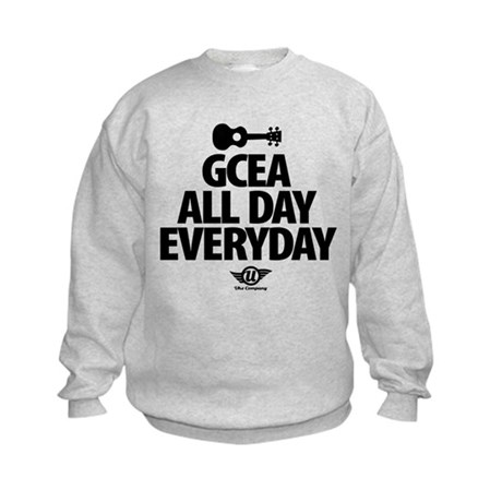 GCEA All Day Everyday! Kids Sweatshirt