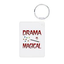 Drama is Magical Aluminum Photo Keychain