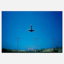 Airplane landing Philadelphia International Airpor