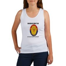 DUI - 3BCT- 1ID - Duke Brigade with Text Women's T