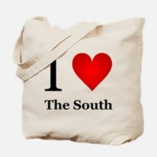 I Love the South Tote Bag