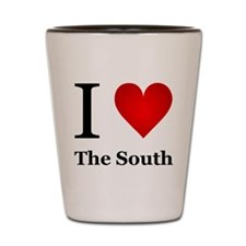I Love the South Shot Glass