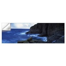 Rock formations at the coast Lands End Cornwall En Wall Decal