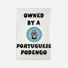 Owned by a Podengo Rectangle Magnet (100 pack)