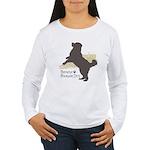 Bernese Mountain Dog Women's Long Sleeve T-Shirt