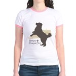 Bernese Mountain Dog Jr. Ringer T-Shirt