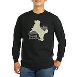 Bernese Mountain Dog Long Sleeve Dark T-Shirt