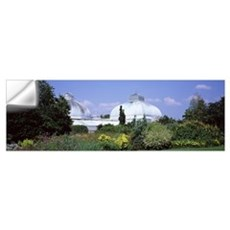Building in a botanical garden Buffalo And Erie Co Wall Decal