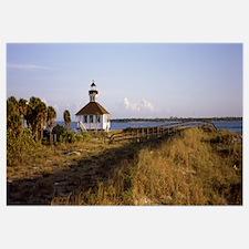 Lighthouse on the coast Port Boca Grande Lighthous