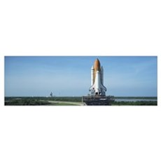 Rollout of Space Shuttle Discovery NASA Kennedy Sp Canvas Art