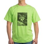 Dore's Puss in Boots Green T-Shirt
