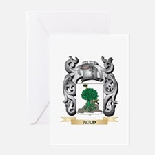 Auld Family Crest - Auld Coat of Ar Greeting Cards