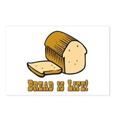Bread is Life Postcards (Package of 8)
