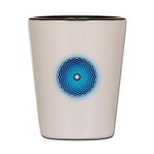 1000 Petal Lotus Crop-Circle Shot Glass