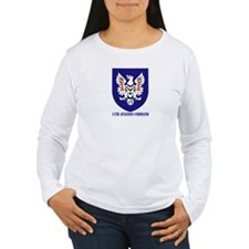 SSI - 11th Aviation Command with text T-Shirt