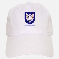 SSI - 11th Aviation Command with text Baseball Baseball Cap