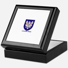 SSI - 11th Aviation Command with text Keepsake Box