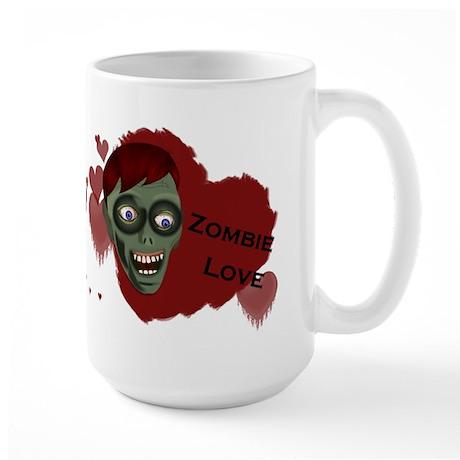 Zombie Love Large Mug