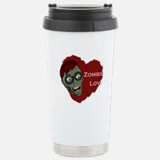 Zombie Love Stainless Steel Travel Mug