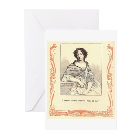 Elisabeth Sophie Chéron Greeting Cards (Pk of 10)