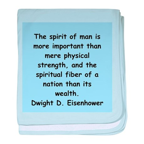 dwight eisenhower baby blanket