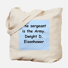 dwight eisenhower Tote Bag