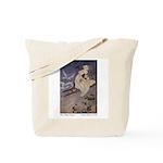 Winter's Snow Queen Tote Bag