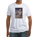 Winter's Snow Queen Fitted T-Shirt
