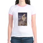 Winter's Snow Queen Jr. Ringer T-Shirt