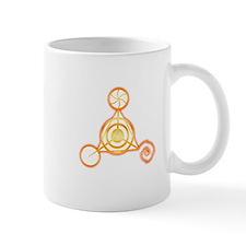 Tetrahedron Crop-Circle Mug