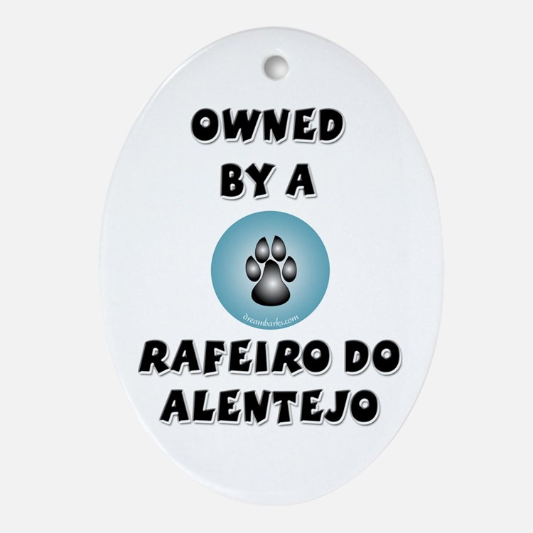 Owned by a Rafeiro Oval Ornament