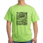 Crane's Sleeping Beauty Green T-Shirt