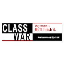 Class War Bumper Sticker