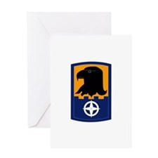 SSI - 244th Aviation Brigade Greeting Card