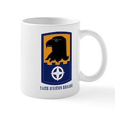 SSI - 244th Aviation Brigade with Text Mug