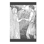 Batten's Swan Maidens Postcards (Package of 8)