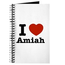 I love Amiah Journal